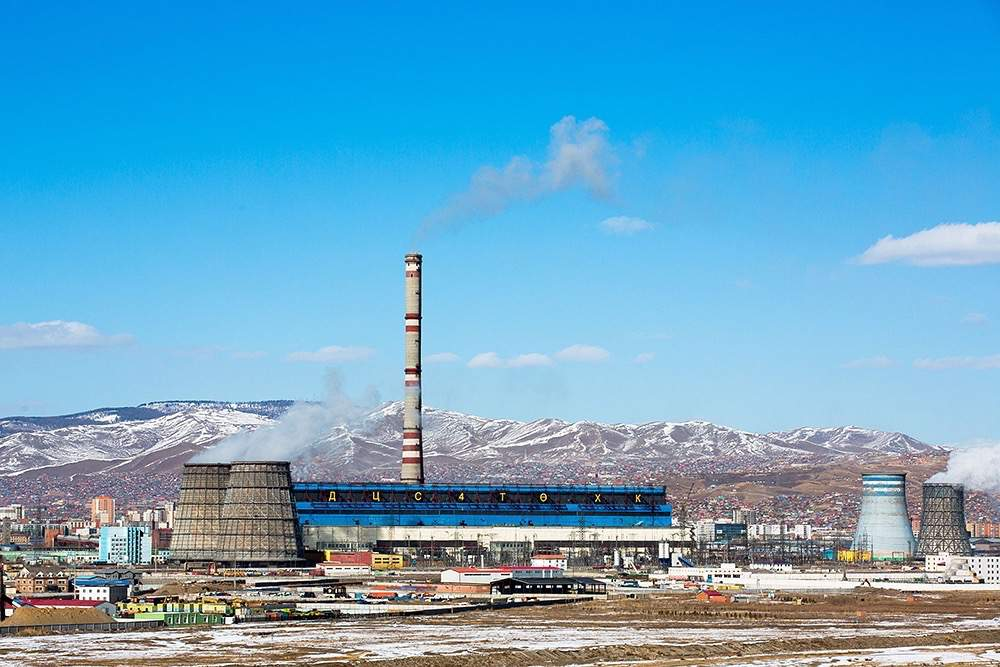 ENERGY EQUIPMENT FOR CHPP IN MONGOLIA