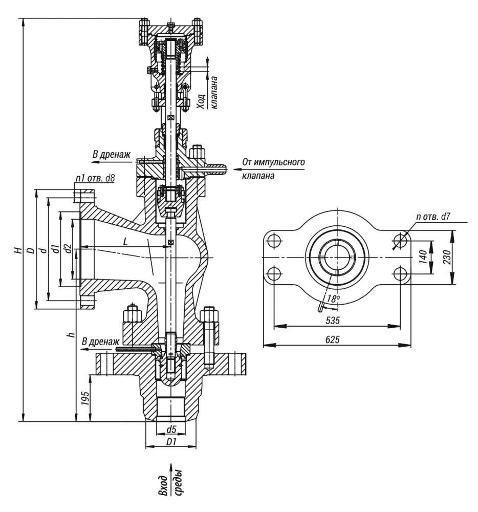 Клапан предохранительный 875-125-0