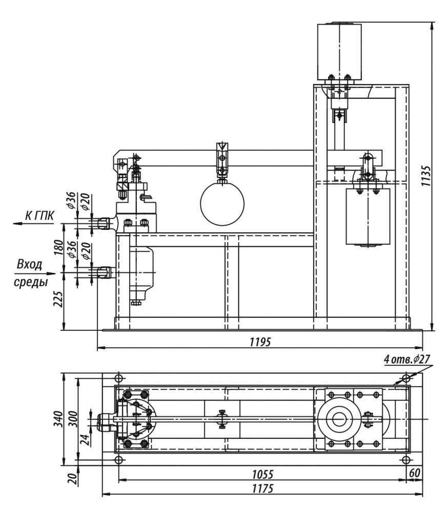 Клапан предохранительный 586-20-ЭМ-01